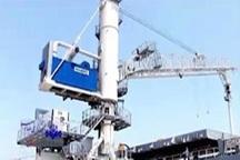 جرثقیل مکنده غلات در ماشین سازی اراک ساخته شد