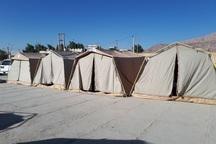 6 کمپ اسکان اضطراری در یاسوج ساخته می شود