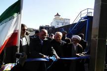 افتتاح و آغاز عملیات اجرایی سه طرح عمرانی و خدماتی در قائمشهر
