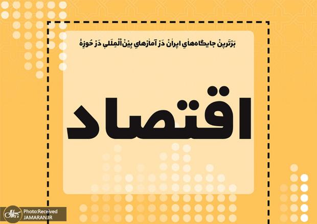 برترین جایگاه های ایران در آمارهای بین المللی در حوزه اقتصاد