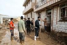 شهدای مدافع حرم مازندران به کمک سیلزدگان می روند