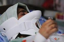 واژگونی سرویس مدرسه در شمال فارس  زخمی شدن 5  دانش آموز،درگذشت راننده