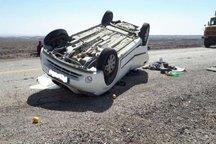 واژگونی، عامل 51 درصد فوتی های حوادث رانندگی در یزد است