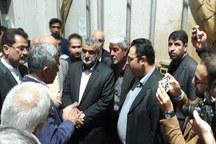 وزیر جهاد کشاورزی از کارخانه کنسانتره شاهرود بازدید کرد
