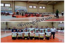 پیروزی تیم والیبال نشسته روانکارهای گلستان بر شهرداری ارومیه
