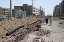 80 درصد لوله گذاری شبکه فاضلاب شهری بروجرد انجام شده است