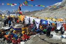 قیچیساز فردا برای صعود تلاش میکند  مراسم پوجا امروز برگزار شد + عکس