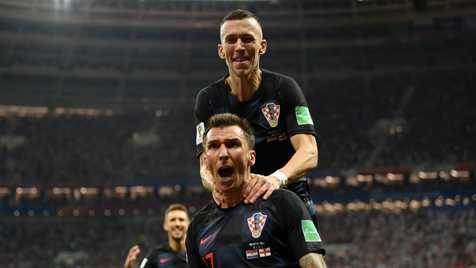 برانکو و جشن صعود کرواسی به فینال جام جهانی + عکس