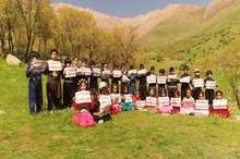 کودکان پاوه ای نغمه حفظ محیط زیست سر دادند