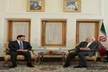 دیدار وزیر امور بینالملل حزب کمونیست چین با ظریف