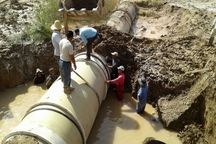 خط انتقال آب غدیر مناطق روستایی غرب کارون همچنان قطع است
