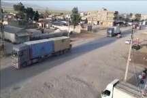 100 کامیون سلاح هدیه آمریکا به حزب اتحاد دموکراتیک سوریه