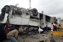 کشته شدن تعدادی از دانشآموزان البرزی در تصادف اتوبوس راهیان نور  احتمال افزایش جانباختگان وجود دارد