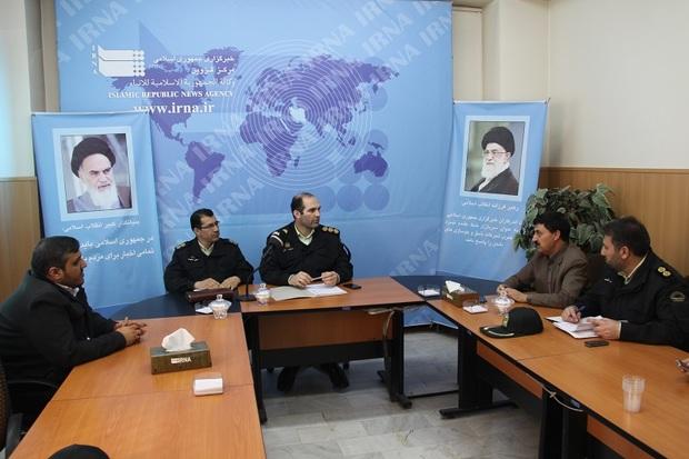 میزگرد دستاوردهای انقلاب در حوزه پلیس برگزار شد