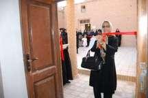 افتتاح نمایشگاه پوشاک سنتی و کارگاه سوزن دوزی زنان بلوچ در بیرجند
