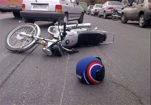 دو راکب موتور در قم  جان خود را از دست دادند