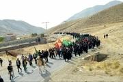 پیادهروی جاماندگان اربعین در شهرستان دماوند برگزار شد