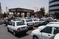 توقف فعالیت تانکرداران فارس موجب شلوغی برخی پمپ بنزین ها شد