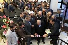 افتتاح ساختمان اداری امور برق سوادکوه شمالی