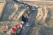 پیادهروی حسینیان مشگینشهری برگزار شد