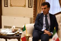 همکاریهای ورزشی ایران و ایتالیا توسعه مییابد