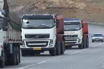 رتبه چهارم زنجان در تردد خودروهای سنگین از جاده های این استان