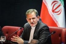 جهانگیری: کمترین تردیدی در ایران برای توسعه روابط اقتصادی و سیاسی با چین وجود ندارد