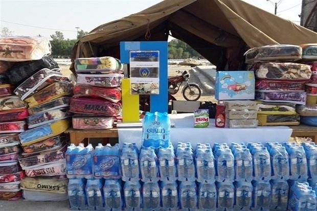 مردم قزوین 193 میلیون تومان به سیل زدگان گلستان کمک کردند