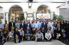 بزرگداشت روز خبرنگار در اداره کل بنادر و دریانوردی خوزستان+ تصاویر