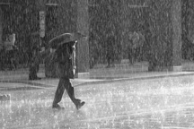 بارش های رگباری باران تا پایان هفته ادامه دارد