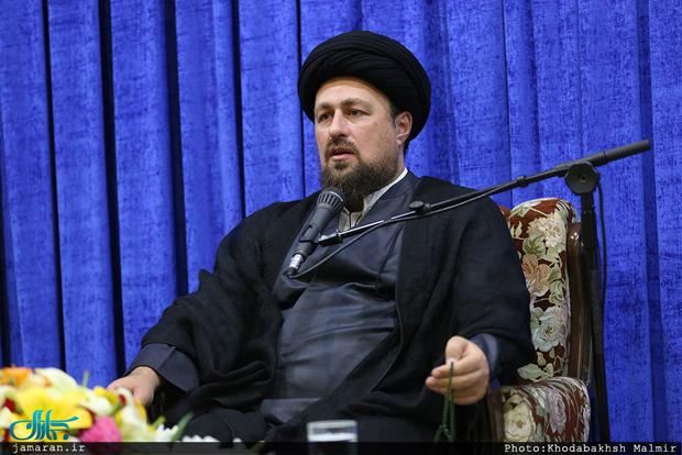 سید حسن خمینی:  استراتژی« گل بر سر تفنگ سربازان» امام از مهمترین عوامل تسهیلکننده انقلاب بود