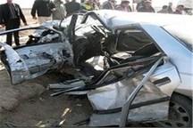 حادثه رانندگی در فیروزآباد یک کشته و چهار مصدوم داشت
