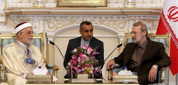 لاریجانی: جریان های تروریستی بلای جان جهان اسلام شده اند