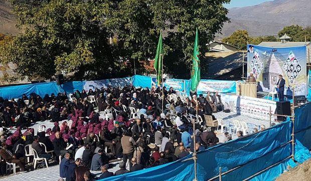 همایش روز ملی مازندران در بخش کجور نوشهر برگزار شد