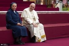 عکس/ کیک تولد برای 82 سالگی پاپ