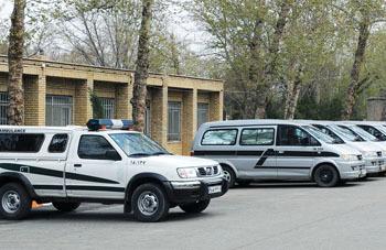 تدارک آمبولانس های جدید برای حمل مردگان