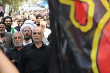 آئین عزاداری شهادت امام محمد باقر(ع) در ورامین برگزار شد