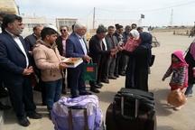 استقبال از مسافران خارجی در مرز دوغارون