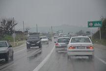 هشدار پلیس راه قزوین نسبت به لغزندگی سطح جادهها