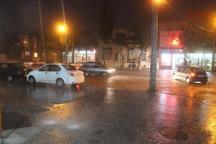 باران به هوای پاییزی اردبیل طراوت بخشید