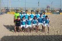 مسابقات رقابت های زیرگروه فوتبال ساحلی کشور دربوشهر آغاز شد
