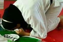 بانوی تکواندوکار دزفولی مدال برنز مسابقات جهانی را کسب کرد