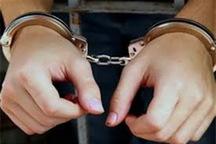 سارق حرفه ای در شوط دستگیر شد
