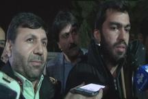 جوانی که به اشتباه ربوده شده بود به آغوش خانواده اش بازگشت