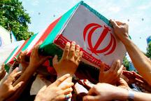 پیکر شهدای مدافع وطن در میان استقبال مردم وارد دزفول شدند