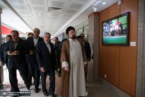 دیدار سید حسن خمینی از موزه ورزش، المپیک و پارالمپیک