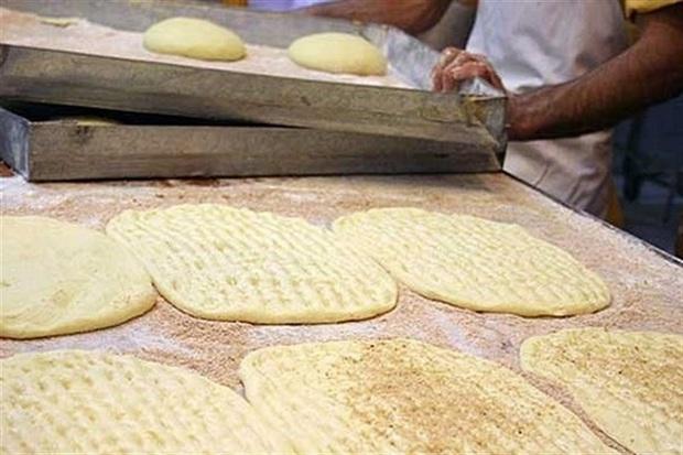 نرخ نان در اردستان 10 درصد افزایش یافت