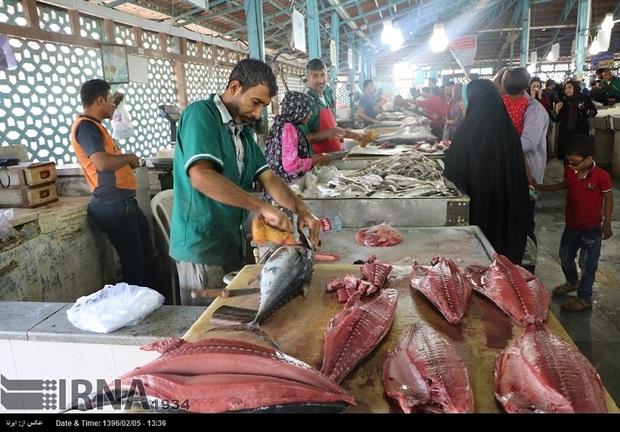 بازار مصرف آبزیان در استان مطلوب است