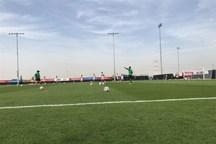 تمرین تیم ملی بعد از برتری برابر یمن در غیبت شجاعی