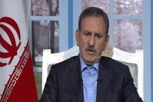 جهانگیری: تصویر برخوردهای امنیتی و ضربتی، ایرانیان را پژمرده میکند
